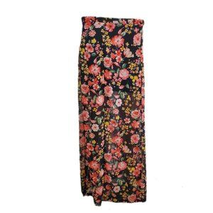 Forever 21 Womens Floral Skirt Size XS
